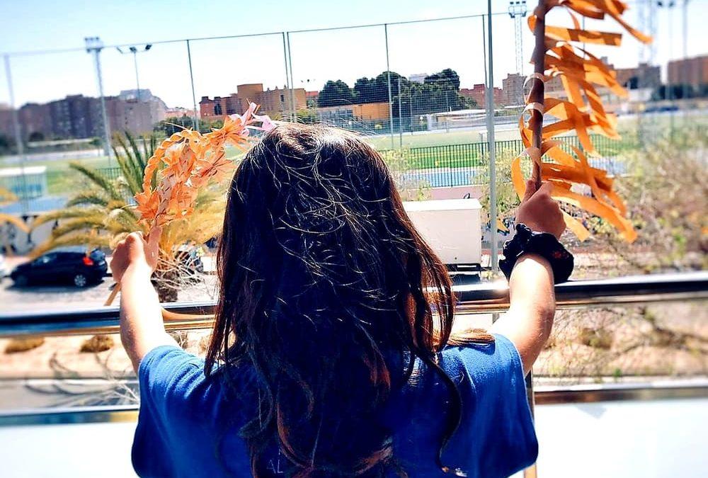 Un domingo de Ramos desde el balcón