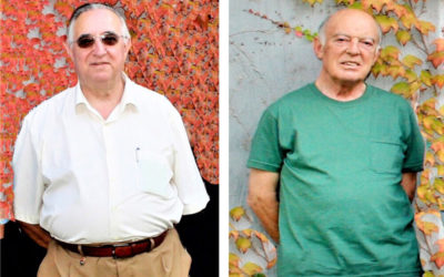 Don José Lafuente, don Javier Churio y don Francisco Abad llevan 50 años como sacerdotes