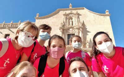 Los grupos Comfya visitan la Santa Faz