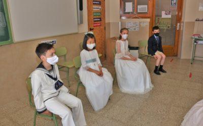 Primeras comuniones en el colegio (días 22 y 23 mayo)