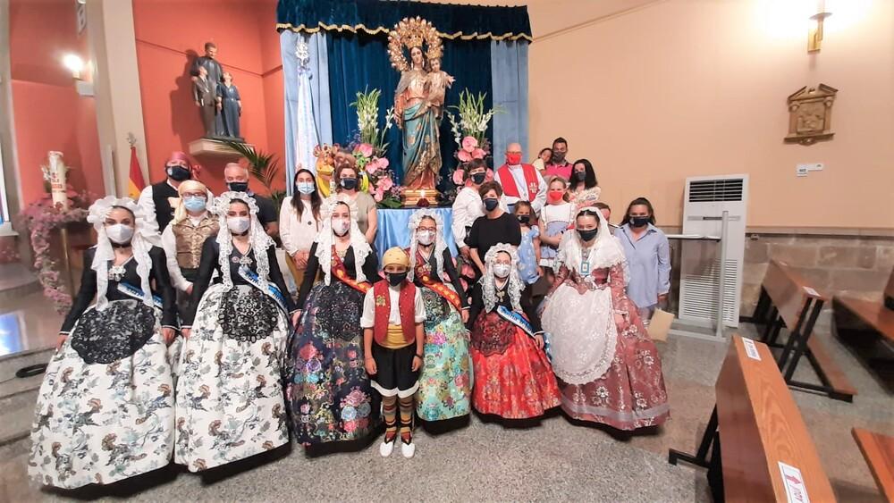 La Hoguera Don Bosco, presente en la Novena de Mª Auxiliadora