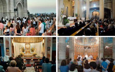 El Templo del Tibidabo se adhiere a la «Red Mundial de Oración del Papa»