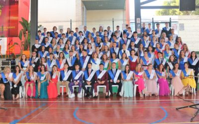Fiesta de Graduación de los alumnos y alumnas de 2º de Bachillerato