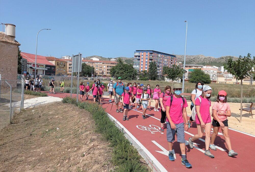 Los grupos de PreComfya, Comfya1 y Comfya2 en el Camino de Santiago del Sureste