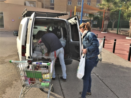 2020-11-11 | Casa | Alimentos para Cáritas